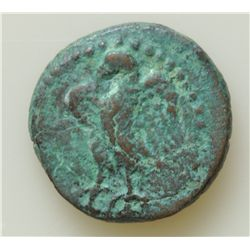 Augustus (27 BC - 14 AD) - AE-15 Berutus 12-14 AD.  Q. Caecilius Metellus Creticus Silanus, Legate