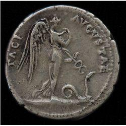 Claudius  (41-54 AD) - AR-Denarius   Lugdunum  41-42 AD. Obv: Laur. head of Claudius  r., TI CLAVD C