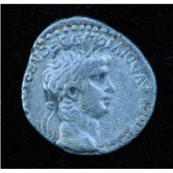 Nero (54 - 68 AD) - Caesarea in Cappadocia. AR-Hemidrachm 59-60 AD. Obv: Laur. hd. r., NERO CLAVD DI