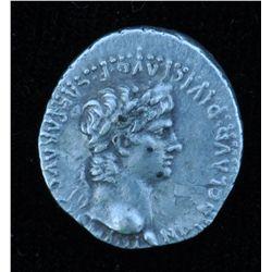 Nero (54 - 68 AD) - Caesarea in Cappadocia.  AR-Hemidrachm 59-60 AD. Obv: Laur. hd. of Nero r., NERO