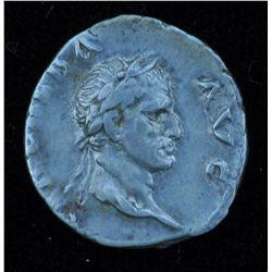 Galba (68-69AD) - Rome AR-Denarius 68 AD. Obv: laur. hd. of Galba r., SER GALBA AVG  Rev: Galba on h