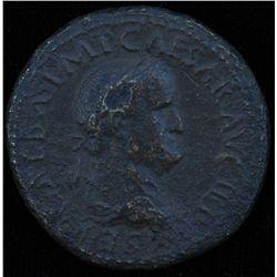 Galba (68-69 AD) - Rome AE-Sestertius 68 AD. Obv: Laur. hd. r., SER GALBA IMP CAESAR AVG TR P  Rev: