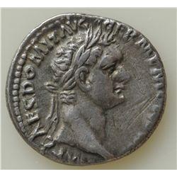 Domitian (81-96 AD) - Two AR-Denarii coins of Domitian, Minerva Rev. S-2736 and S-2737. VF, 2 Pcs.