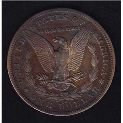 1879cc United States Silver Dollar  - Carson City Mint. VF.