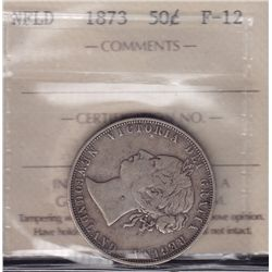 1873 Newfoundland Fifty Cent  - ICCS F-12.