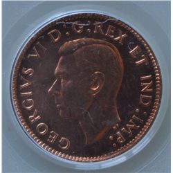 1944 One Cent - PCGS MS64RD.