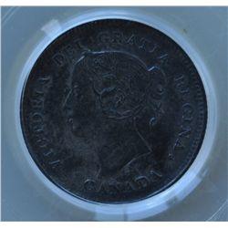 1894 Five Cent  - PCGS AU55.