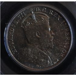 1902 Five Cent - PCGS MS66. Superb toning, amazing coin.