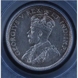 1911 Ten Cent - PCGS MS-64.