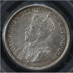 1913 Twenty Five Cent - PCGS MS64.