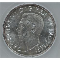 1938 Silver Dollar - ICG MS64.