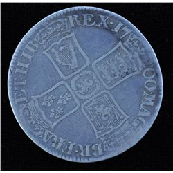 1700 British Crown - With Counter Stamp. Although this is an example of a random C/S, it is especial