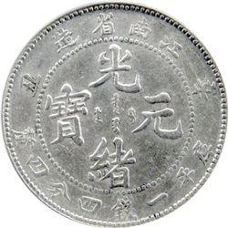 KIANGNAN: Kuang Hsu, 1875-1908, AR 20 cents, CD1901