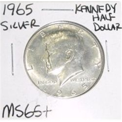 1965 Kennedy SILVER Half Dollar *MS-65+ HIGH GRADE - NICE COIN*!!