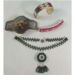 Native American Style Beaded Jewelry