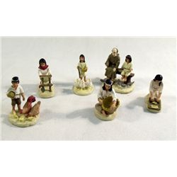 6 Mexican Miniature Figures