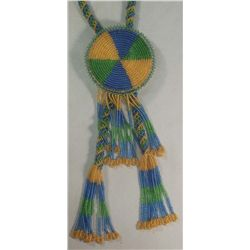 Beaded Necklace With Slide
