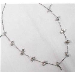 German Silver Fetish Necklace