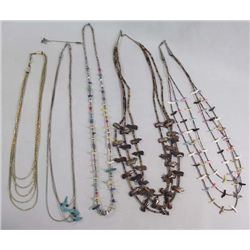Collection Southwest Necklaces and Stick Pin