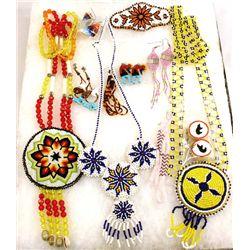 Southwest Beaded Jewelry Earrings Necklaces