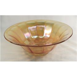 Imperial Carnival Glass-Console Bowl, ''Wide Panel''