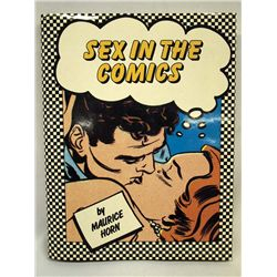 1985 Hardback Book ''Sex in the Comics'' - M Horn