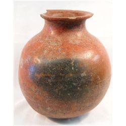 PreColumbian Red Ware Utilitarian Jar