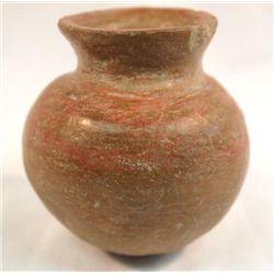 Miniature Prehistoric PreColumbian Two Toned Jar