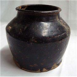1900s Chinese Salt Glazed Crock