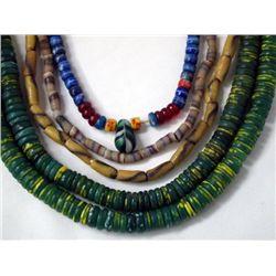 19th Century Trade Bead Necklaces