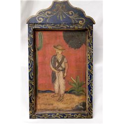 Framed Original Mexican Painting