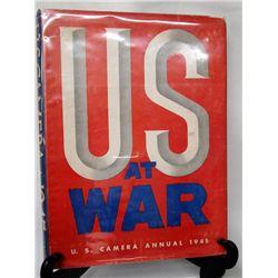 Hardback Book ''U.S. Camera Annual 1945'' War Photos