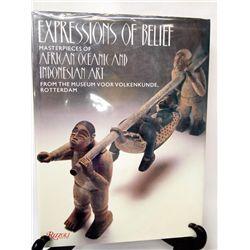 1988 Hardback Book ''Expressions of Belief''
