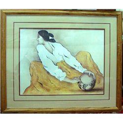 R.C.Gorman Framed Print