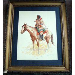 Frederick Remington Print ''A Breed''