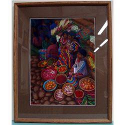 1998 Original Pastel By Leslie Snow