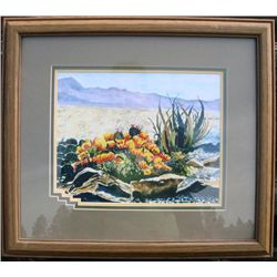 Original Water Color By Theresa Lowery