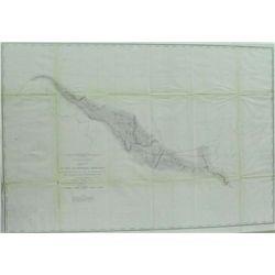 1853-4 Map St. Paul To Rivere Des Lacs - Map No 1