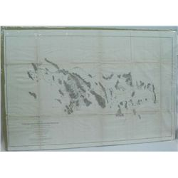 1854-5 Map No 2 Pimas Villages To For Fillmore