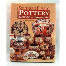 Book Southern Pueblo Pottery 2,000 Artist Bio.