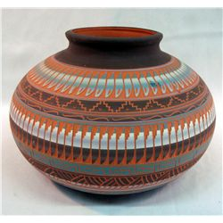 Large Navajo Jar Signed