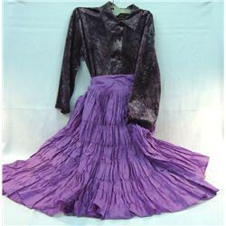 Navajo Skirt & Blouse