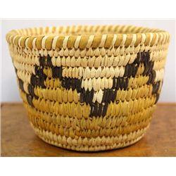 Vintage Papago Woven Basket