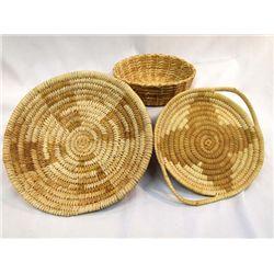 Papago Flat and Shallow Baskets
