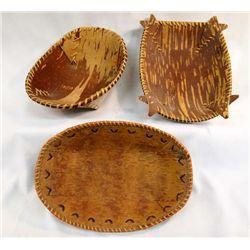 Chippewa Birch Bark Baskets