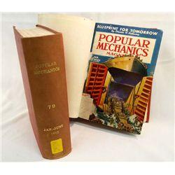 Two Hardback Books of 1943-44 Popular Mechanics