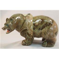 Large Zuni Stone Fetish Bear