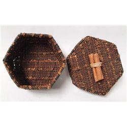Indonesian Hand Woven Clove Treasure Box