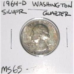 1964 D Washington Silver Quarter Rare Toned Ms 65 Grade Nice Coin,Prickly Pear Jelly Recipe Low Sugar