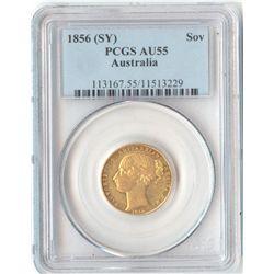1856 Sydney Mint Sov
